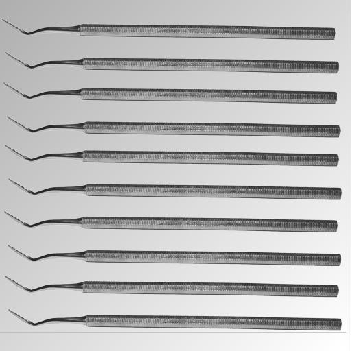 Eckenfeile Einseitig Gebogen 15 cm Nr.FP-16-10