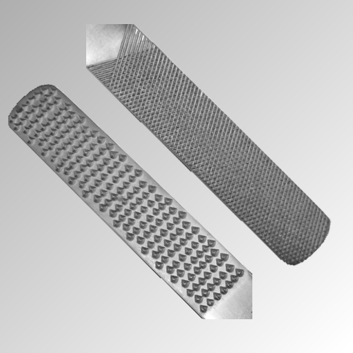 Hornhautraspel mit Metallgriff 15,5 cm Nr.FP-42